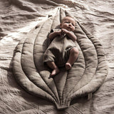 Linen Leaf Playmat