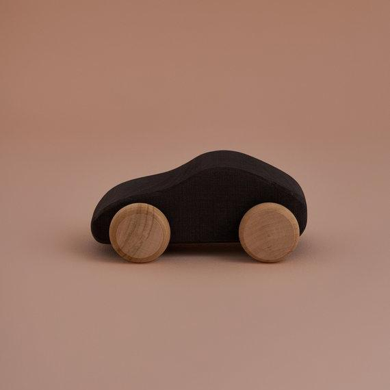 Black Wooden Car