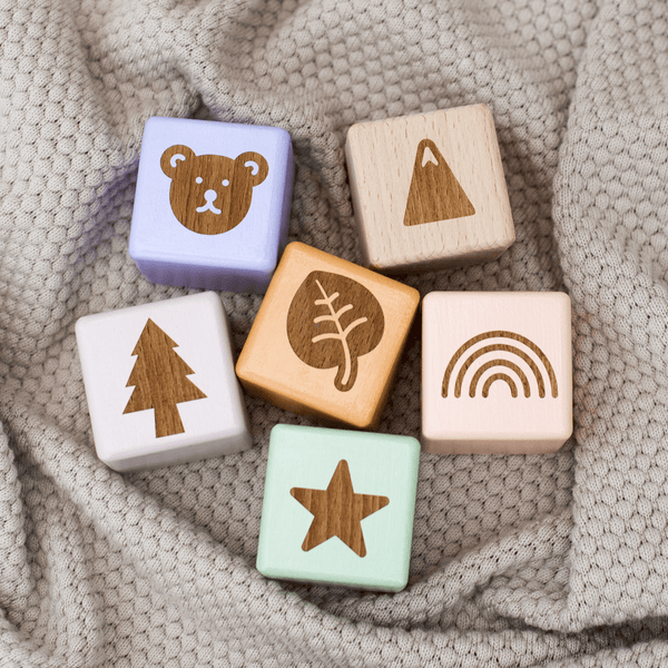 Wooden Symbol Blocks