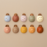 Wooden Counting Ladybirds (Custom Colours)