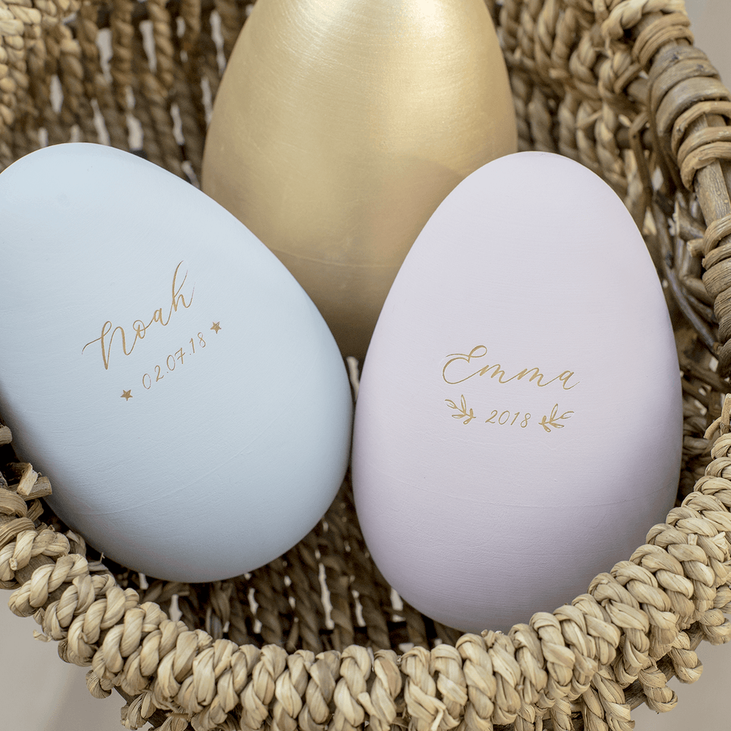 Personalised Musical Wooden Egg