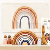 Painted / Stained Wooden Rainbow (9-arch)