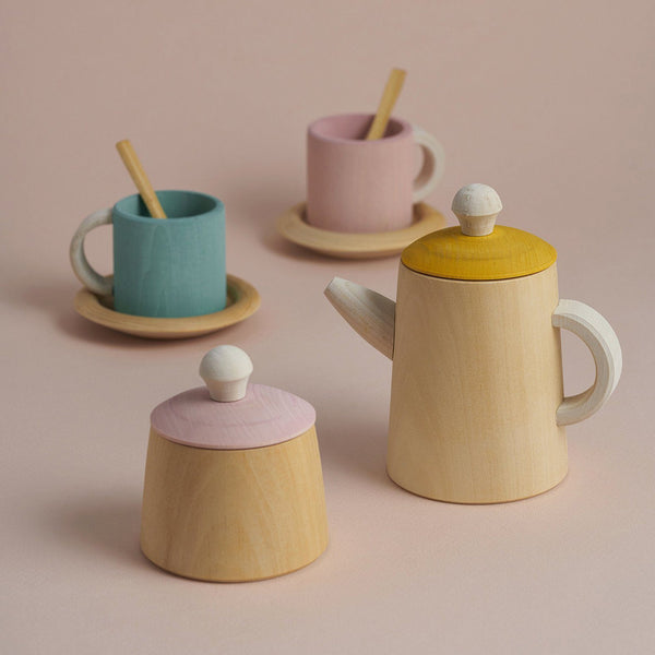 Pastel Wooden Tea Set - (Back in August!)