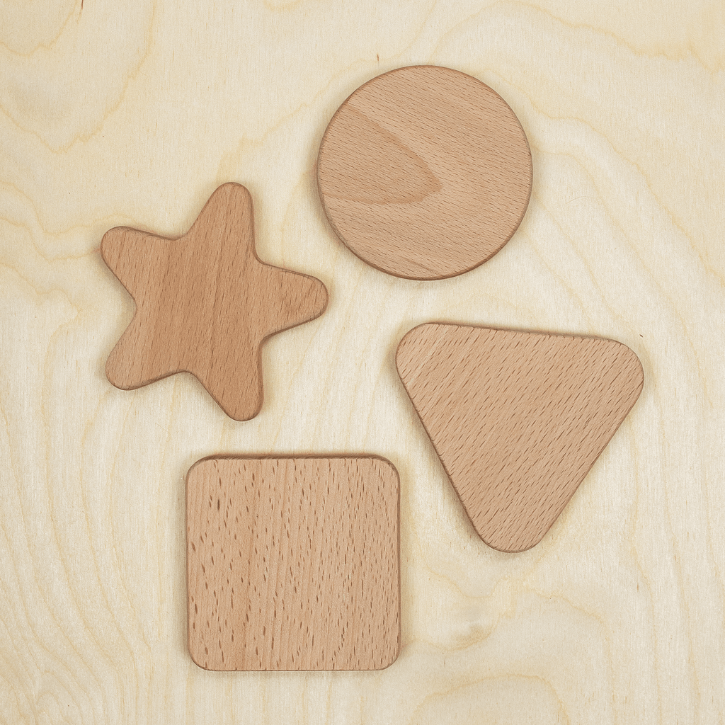 Natural Wooden Shapes