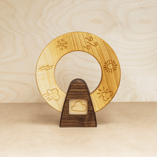Wooden Weather Wheel (Linden)