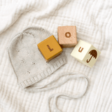Wooden Letter Blocks