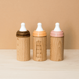 Mini Wooden Toy Bottle