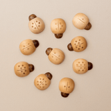 Wooden Counting Ladybirds (Natural)