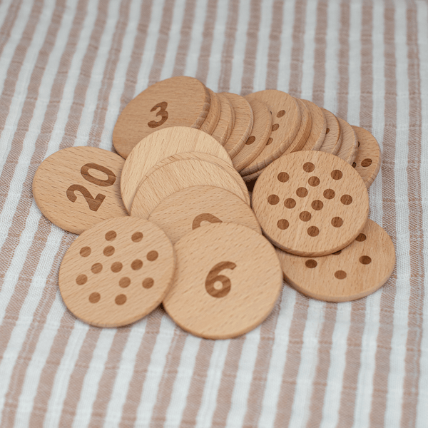 Wooden Numberdots