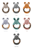Personalised Bunny Teether
