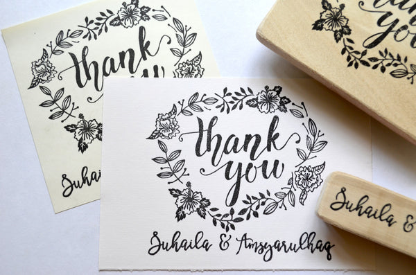 """Thank You"" stamp (With design)"