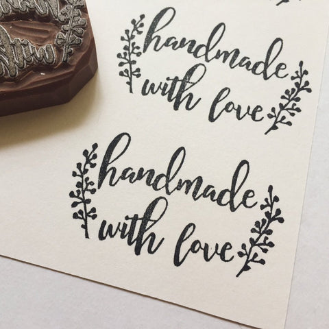Handmade with love (leaves)