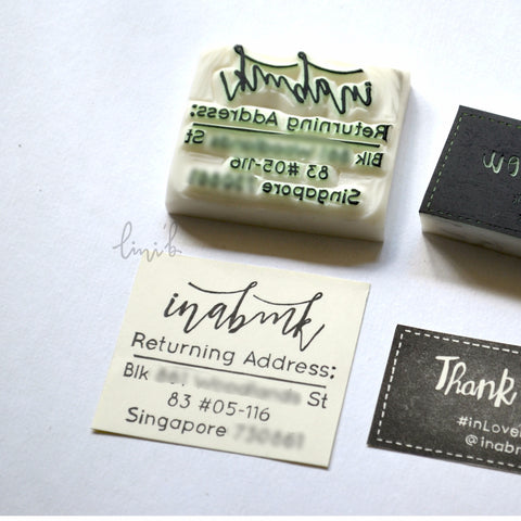 Return/ Home Address Stamp