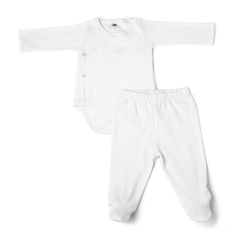 Set de Body y Pants Trésor Blanco