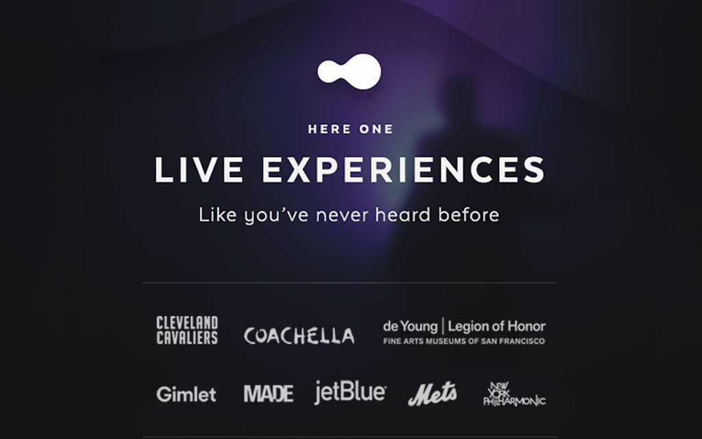 The Future of the Live Experience Through Here One