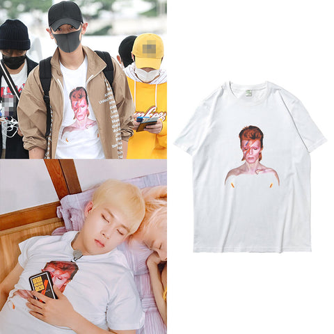 EXO CHANYEOL MONSTA X JOOHEON GRAPHIC T-SHIRT