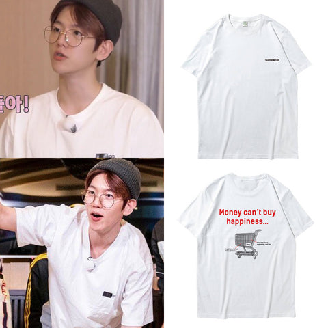 EXO BAEKHYUN MONEY CAN'T BUY HAPPINESS T-SHIRT