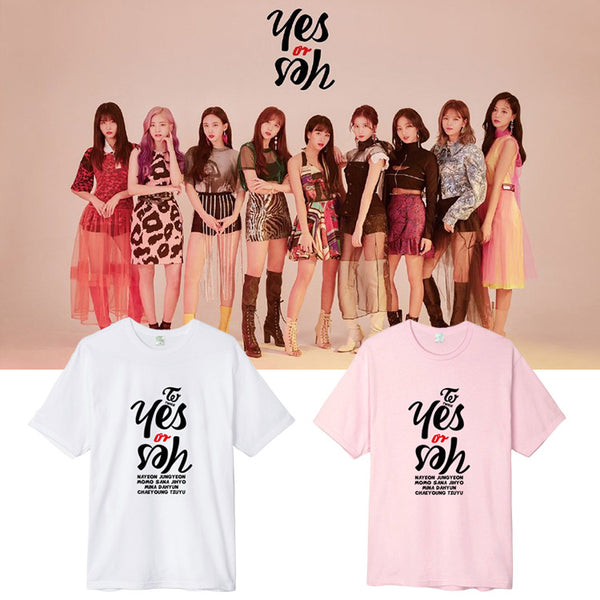TWICE YES OR YES T-SHIRT