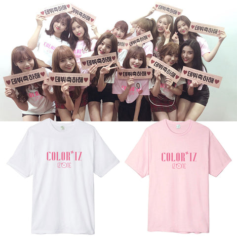 IZ*ONE COLOR*IZ SHOWCASE T-SHIRT