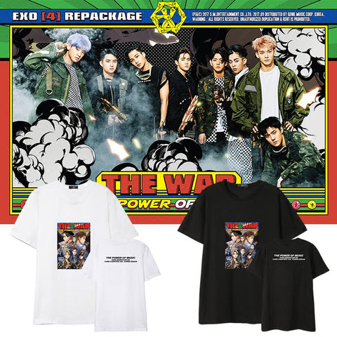 EXO THE POWER OF MUSIC T-SHIRT