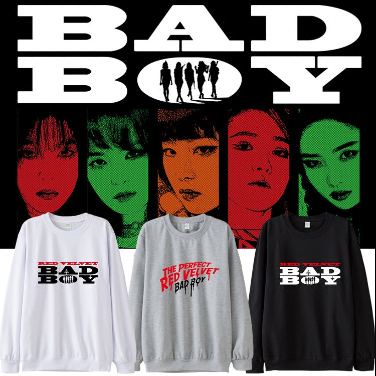 cc6343c849dbd RED VELVET BAD BOY SWEATER – IDOLS FASHION