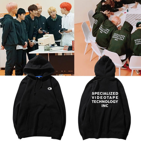 SEVENTEEN SPECIALIZED VIDEOTAPE TECHNOLOGY INC HOODIE
