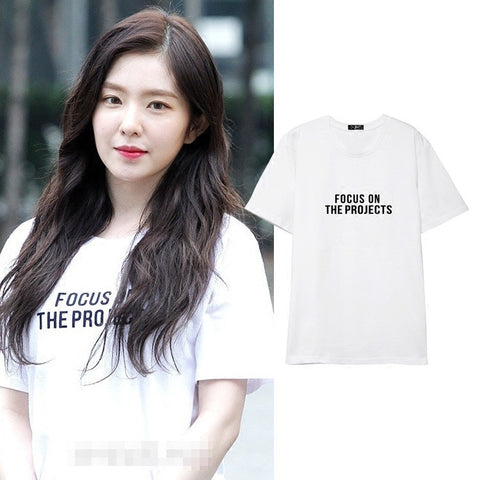 RED VELVET IRENE FOCUS ON THE PROJECTS T-SHIRT