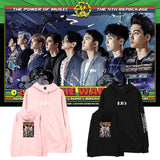 EXO THE WAR THE POWER OF MUSIC HOODIE
