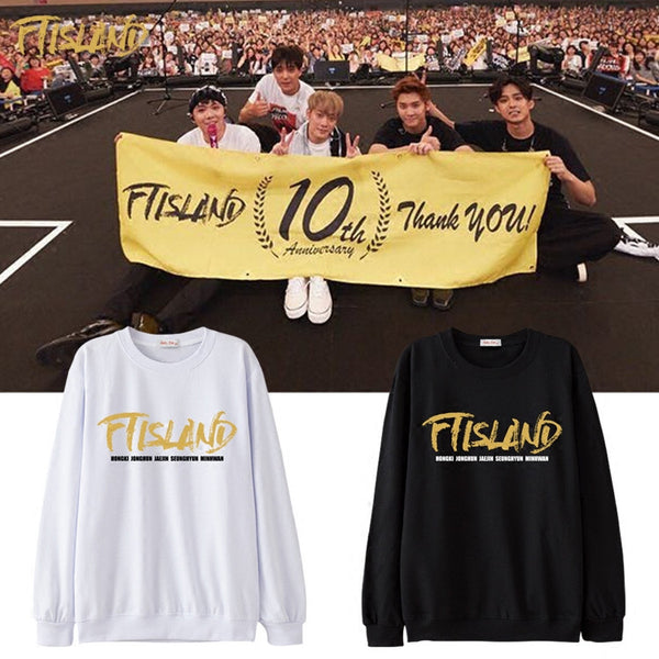 FTISLAND 10TH ANNIVERSARY SWEATER