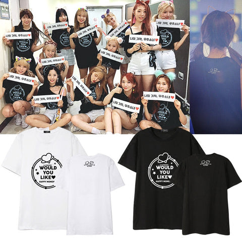 WJSN WOULD YOU LIKE HAPPY MOMENT T-SHIRT