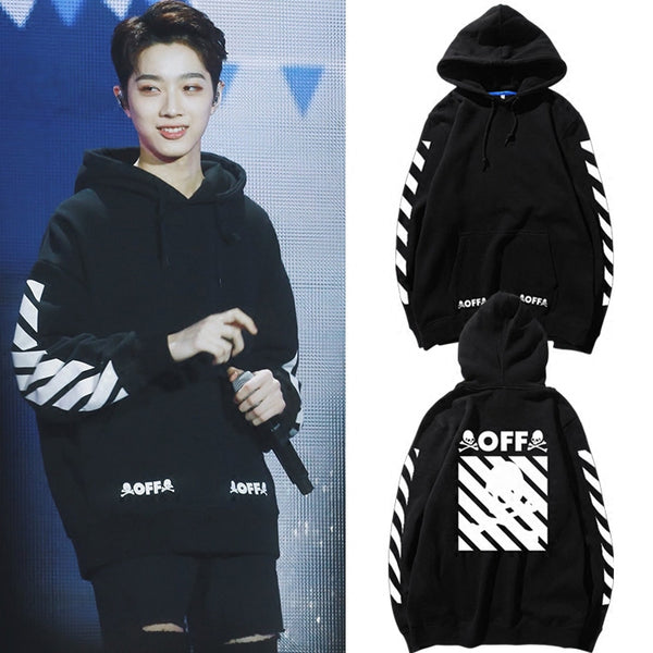 WANNA ONE GUANLIN OFF HOODIE