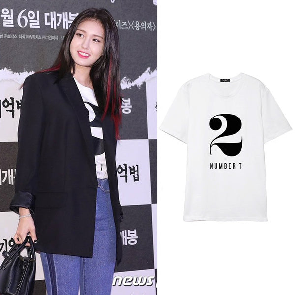 JEON SOMI 2 NUMBER T T-SHIRT