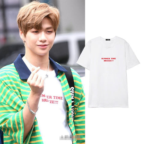 WANNA ONE DANIEL SUMMER TIME BREEZE T-SHIRT