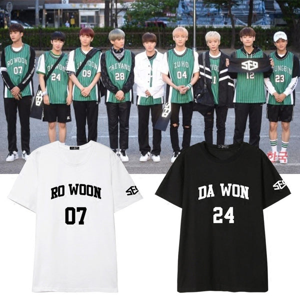 SF9 NUMBER MEMBER T-SHIRTS