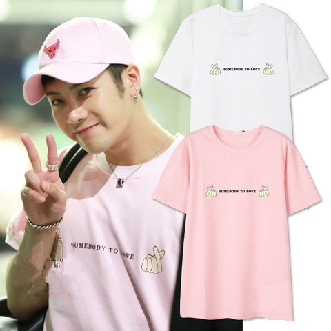 GOT7 JACKSON SOMEBODY TO LOVE T-SHIRT
