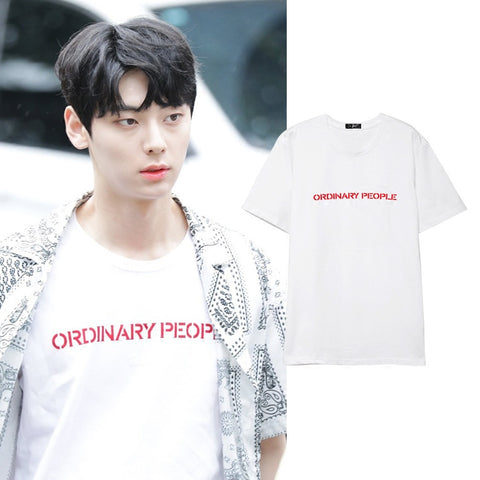 WANNA ONE NU'EST MINHYUN ORDINARY PEOPLE T-SHIRT