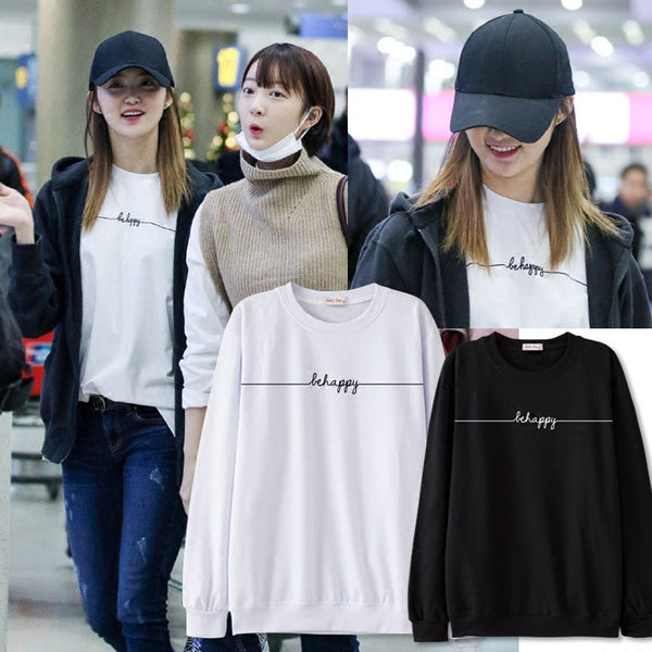 EXID JUNGHWA BE HAPPY SWEATER