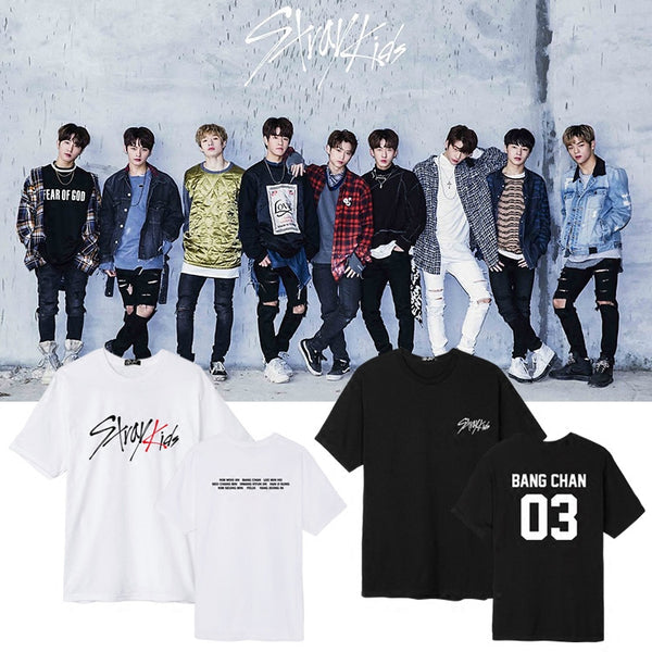STRAY KIDS DEBUT T-SHIRT