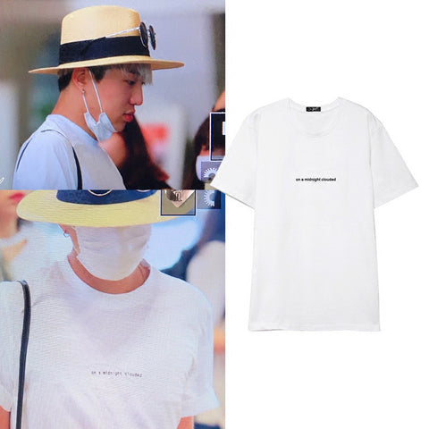 WINNER SEUNGYOON MIDNIGHT CLOUDED T-SHIRT