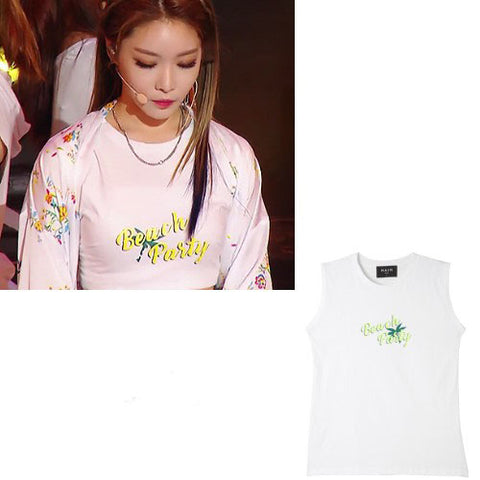 KIM CHUNGHA BEACH PARTY TANK TOP