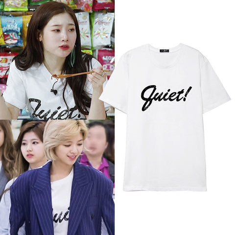 TWICE JUNGYEON DIA CHAEYEON QUIET T-SHIRT