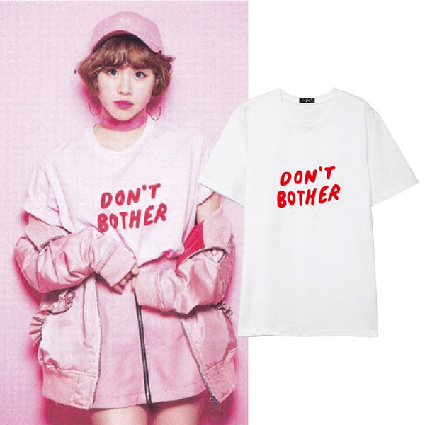 TWICE CHAEYOUNG DON'T BOTHER T-SHIRT