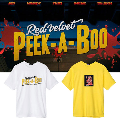 RED VELVET PEEK-A-BOO T-SHIRT
