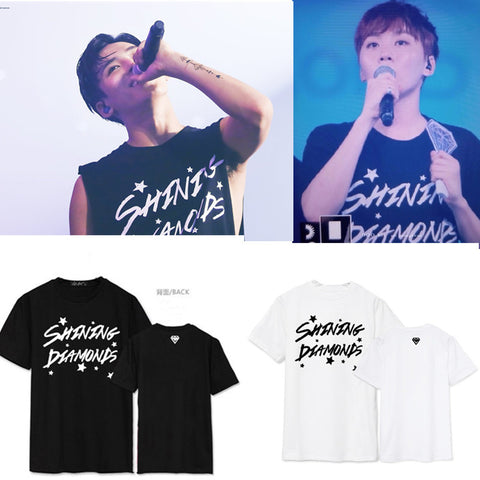 SEVENTEEN SHINING DIAMOND CONCERT T-SHIRT