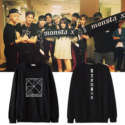 MONSTA X BEAUTIFUL CONCERT SWEATER