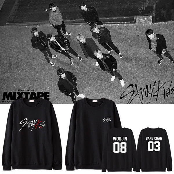 STRAY KIDS DEBUT SWEATER