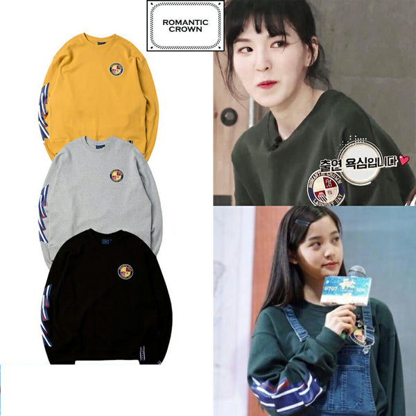 RED VELVET WENDY ROMANTIC CROWN SWEATER