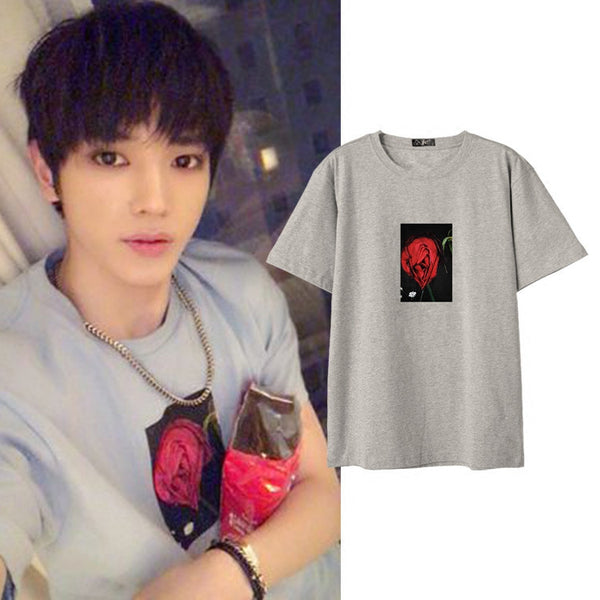 NCT TAEYONG ROSE T-SHIRT