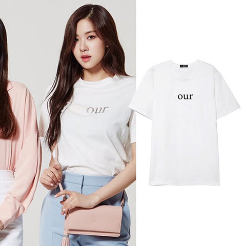 BLACKPINK ROSE OUR T-SHIRT