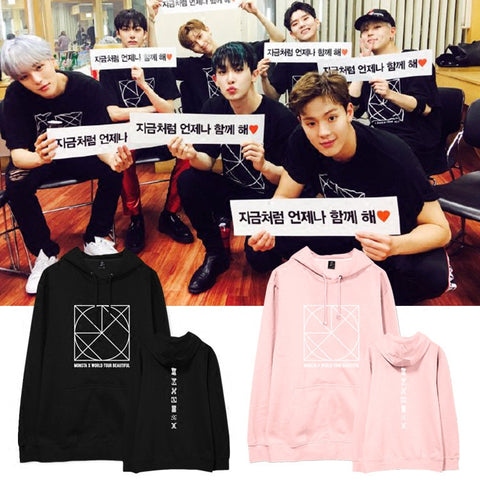 MONSTA X BEAUTIFUL CONCERT HOODIE